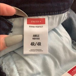 Express Jeans - Express ankle high rise 4Rtags attached $88 retail